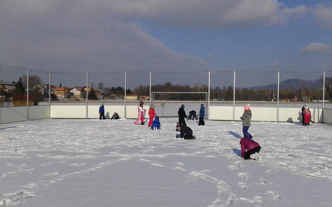 OPB na snegu