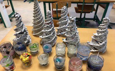 Božični ustvarjalni delavnici
