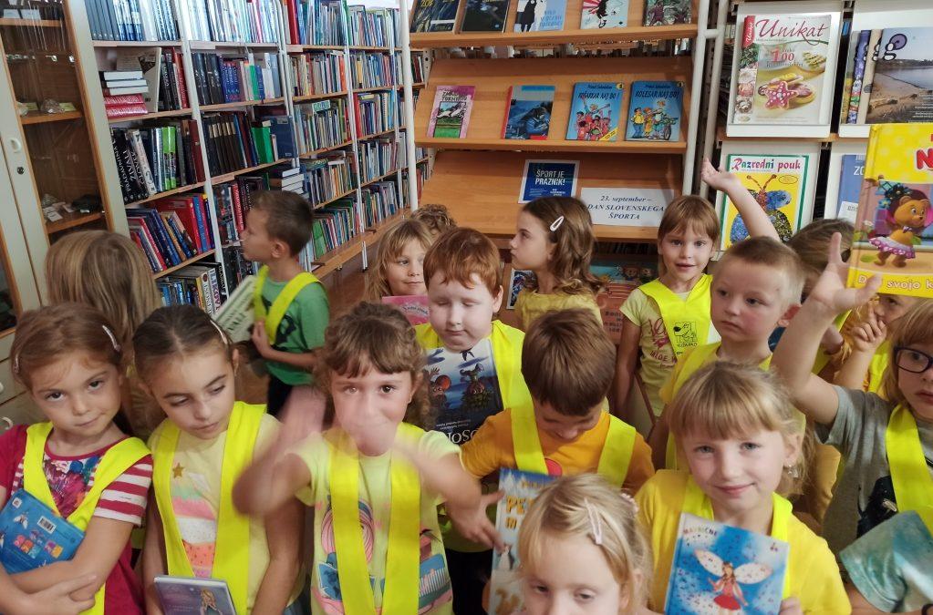 Dan slovenskega športa v šolski knjižnici
