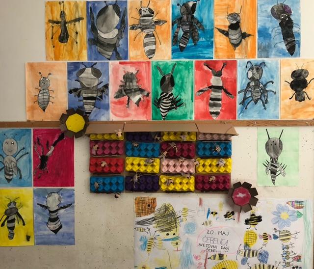 Ustvarjanje ob dnevu čebel