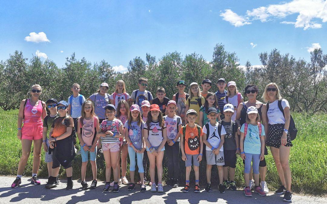 Utrinki iz šole v naravi (3. razred)